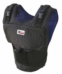 X4040 - The X4040 Xvest comes with 40 one pound weights. The X4040 Xvest can hold up to 40 one pound weights.