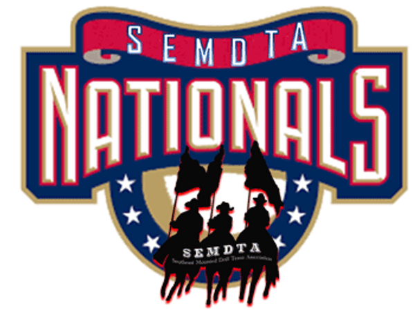 Southeast Mounted Drill Team Association SEMDTA National Competition Logo