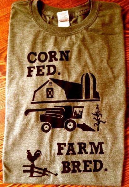 Corn Fed. Farm Bred.