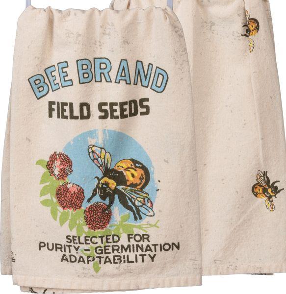 Best Seller! Bee Brand Field Seeds Dish Towel