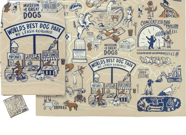 World's Best Dog Park Dish Towel