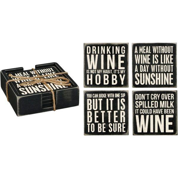 Wine Coaster Set (4)