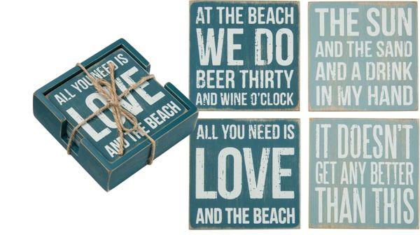 Beach Coaster Set (4)
