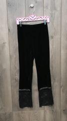 16977P - Velvet Pants w/ Lace Trim