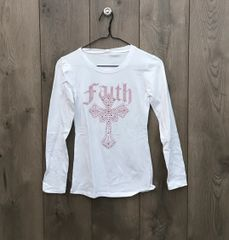 SJ2900 - Faith Long Sleeve w/ Pink Embellishment