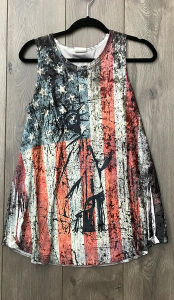 Gorgeous Statue of Liberty Velvet Tank