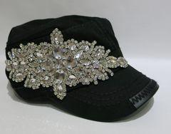 Embellished Velcro Cap - Style 2