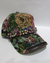 Adjustable Embellished Baseball Cap - Style 5