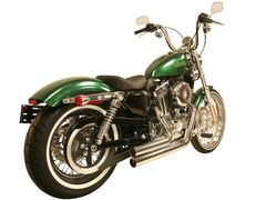 5040ST. Sportster '04-'13 Chrome Short Full System