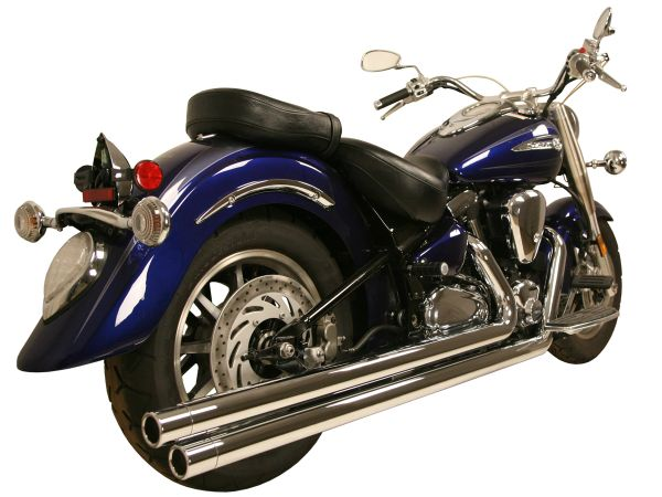 Yamaha Road Star 99-14 2:2 System Chrome