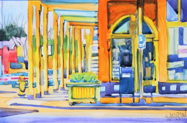 Oxford | Square Books Sidewalk