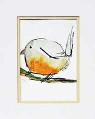 Watercolor Bird #255