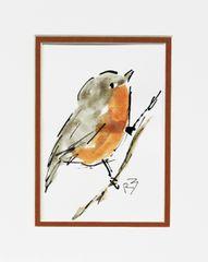Watercolor Bird #495