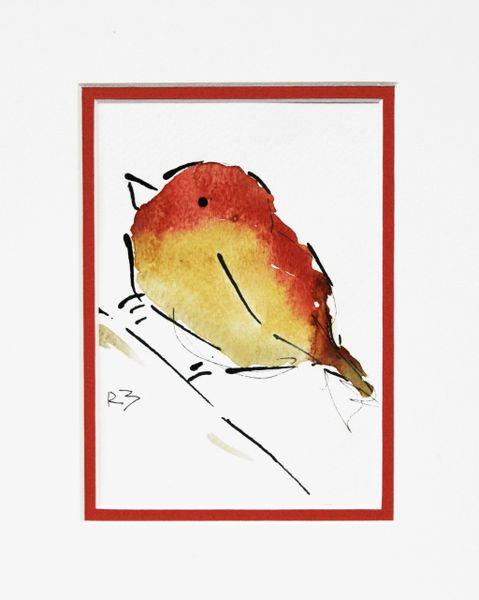Watercolor Bird #492