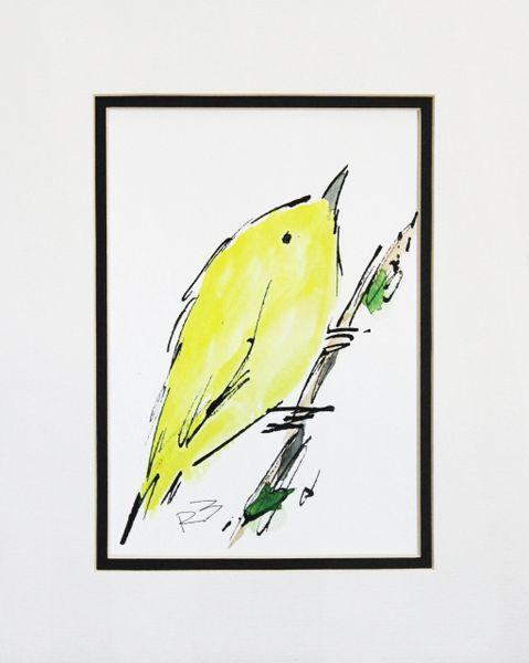 Watercolor Bird #274