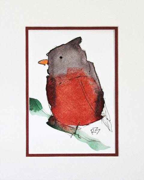 Watercolor Bird #485