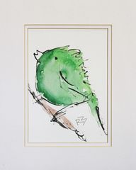 Watercolor Bird #344