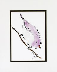 Watercolor Bird #179