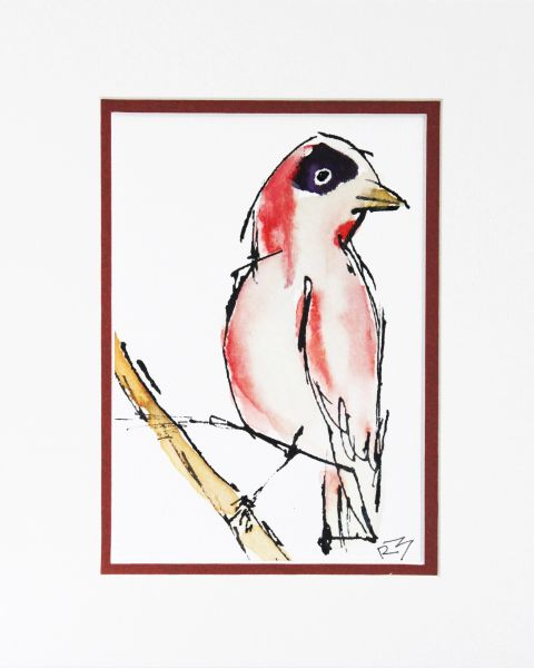 Watercolor Bird #151
