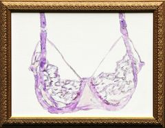 Purple Lace Bra
