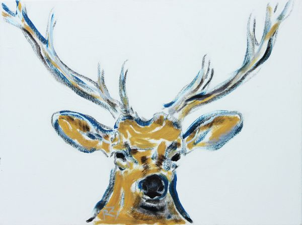 Deer Portrait