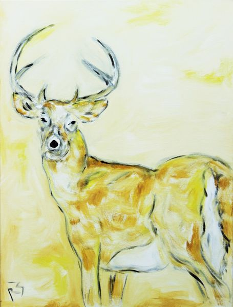 Yellow Deer