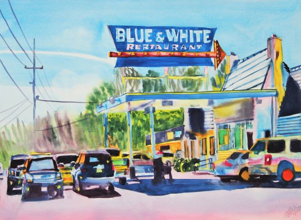 Tunica | Blue and White Restaurant