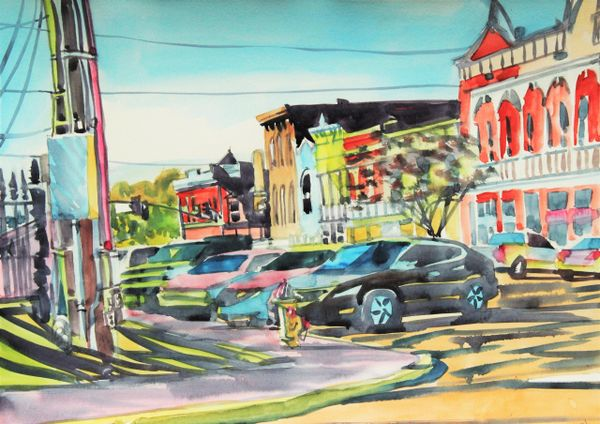 Canton | Cars on the Square