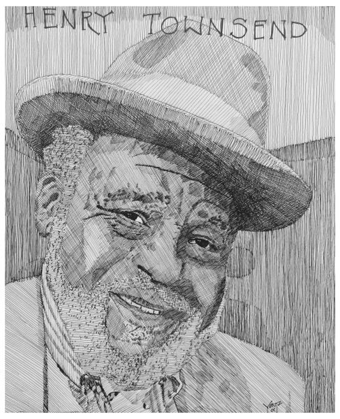 Blues Legend - Henry Townsend