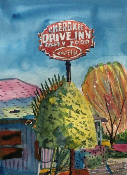 Jackson   Cherokee Drive Inn 1