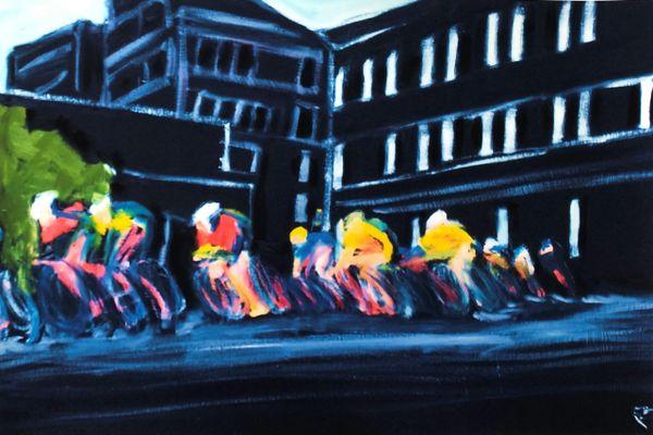 Cycling Print #2