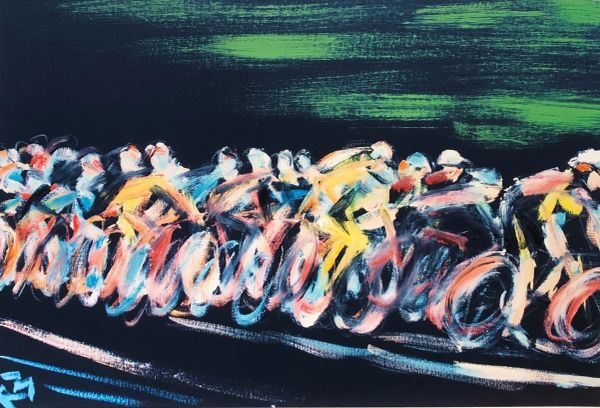 Cycling Print #3