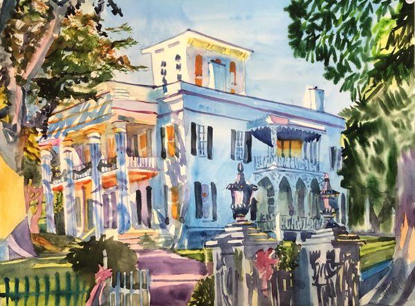 Natchez   Stanton Hall