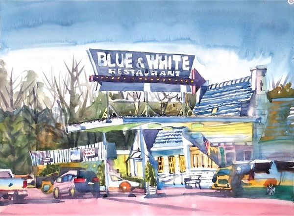 Tunica | Blue & White Restaurant 2