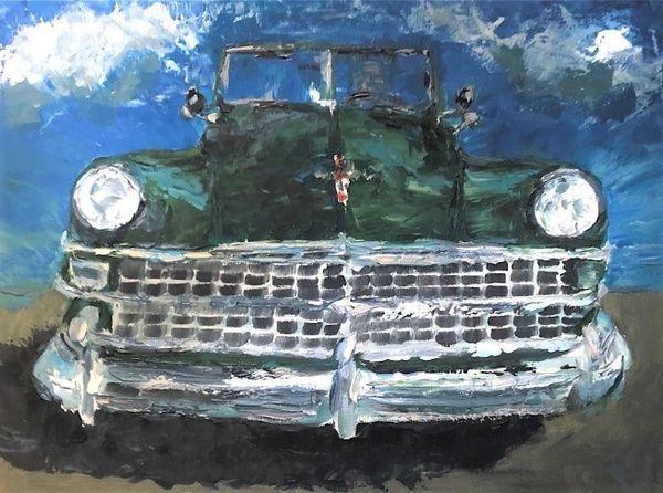Green Chrysler New Yorker