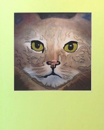 Green Eyes Print