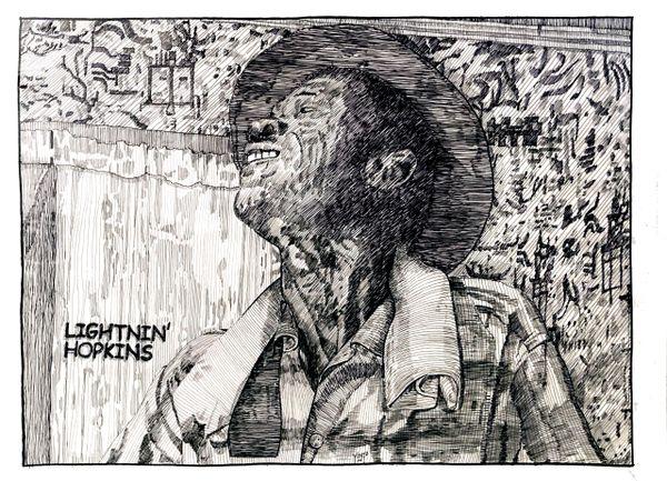 Blues Legend - Lightnin' Hopkins