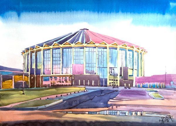 Jackson   Mississippi Coliseum