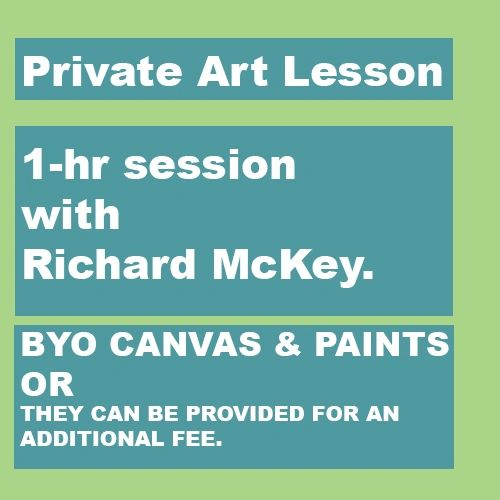 Private Art Lesson - 1 hr