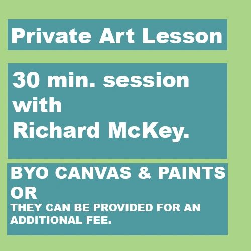 Private Art Lesson - 30 min