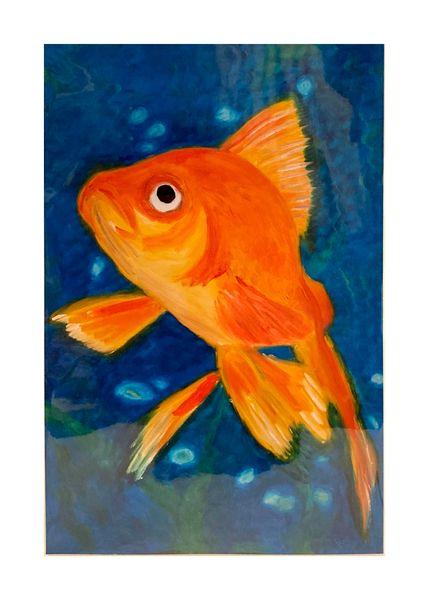 Goldfish (print)