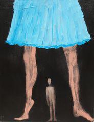 In the Blue Skirt
