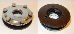 "Baldor TORQ style 3600 RPM governor 1 1/8"" backing plate hole"