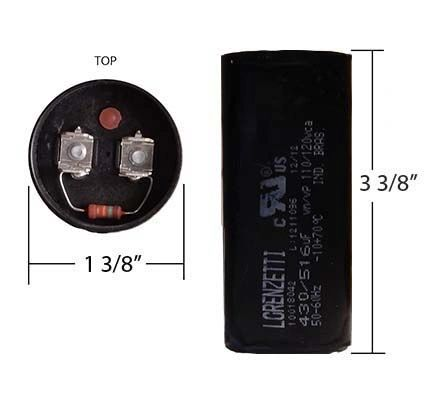 WEG 430-516 MFD 110 Volt Start Capacitor