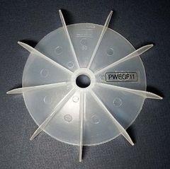 """WEG Cooling Fan 15 mm bore 6 1/4"""" OD"""