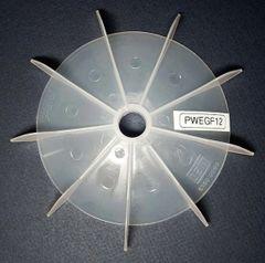 """WEG Cooling Fan 17 mm bore 6 1/4"""" OD"""