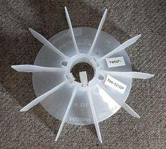 """WEG Cooling Fan 30 mm bore 6 3/4"""" OD"""