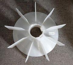 """WEG Cooling Fan 55 mm bore 10 1/4"""" OD"""