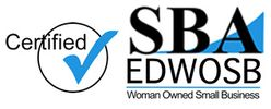Small Business Administration Certified EDWOSB and WOSB