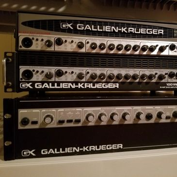 Gallien Krueger Bass Amps